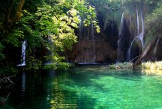 Plitvice National Park / waterfalls 4 Stock Images