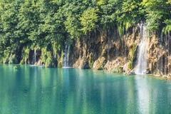 Plitvice nationalpark Arkivfoto