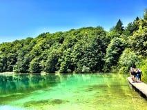Plitvice nationalpark Royaltyfri Bild