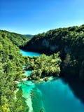 Plitvice nationalpark Royaltyfria Foton