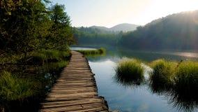 Plitvice Nationalpark, Kroatien Lizenzfreie Stockfotos
