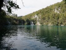 Plitvice. A paradise in croatia! Plitvice lakes, with beautiful and transparent water Stock Images