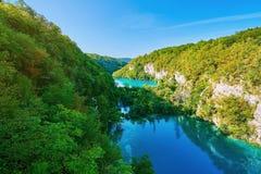 Plitvice park narodowy Zdjęcie Royalty Free