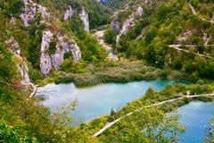Plitvice See-Nationalpark stockbild