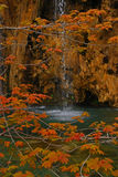 Plitvice See-Nationalpark Kroatien Lizenzfreie Stockfotos