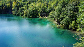 Plitvice See-Nationalpark in Kroatien Lizenzfreie Stockbilder
