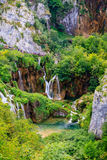 Plitvice Seen Stockfotos