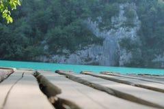Plitvice Seen Stockbild