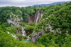 Plitvice Seen in Kroatien Lizenzfreie Stockbilder