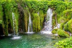 Plitvice Seen in Kroatien Lizenzfreie Stockfotografie