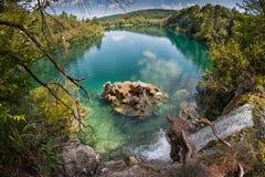 Plitvice sjöar royaltyfri foto