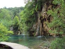 Plitvice sjöar 7 Arkivbild