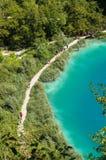 Plitvice sjönationalpark Royaltyfri Bild