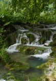 водопады plitvice национального парка озер Хорватии sostavtsy Хорватия стоковое изображение