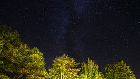 Plitvice stars stock video