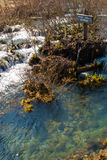 Plitvice stream Stock Photos