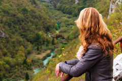 Plitvice valley view Stock Images