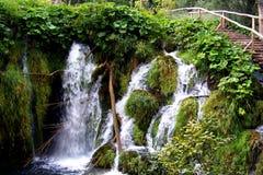 Plitvice vattenfall 01 Royaltyfri Bild