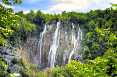 Plitvice Wasserfall Lizenzfreies Stockbild