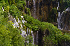 Plitvice waterfall Royalty Free Stock Photos