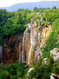 Plitvice - Waterfall. Waterfall on Plitvice lakes, Croatia Stock Image