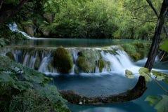 Plitvice waterfall royalty free stock photo