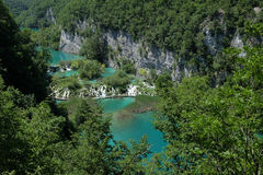 Plitvice waterfall Royalty Free Stock Images