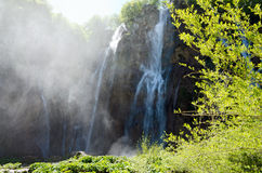 Plitvice. Waterfall Royalty Free Stock Photos