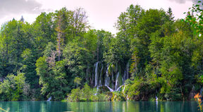 Plitvice waterfall Stock Photo