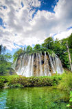 Plitvice waterfall Stock Image