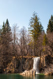 Plitvice waterfall. Waterfall, national park Plitvice, Croatia Royalty Free Stock Images