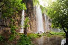 Plitvice waterfalls Stock Photos