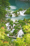 Plitvice waterfalls Stock Photography