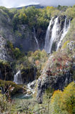 Plitvice waterfalls, Croatia Royalty Free Stock Images