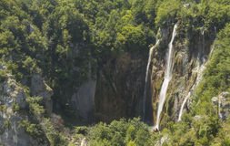 Plitvice waterfalls Royalty Free Stock Photography