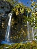plitvice watterfall jeziora. obrazy royalty free