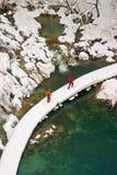 Plitvice - winter landscape Stock Photo