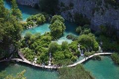 Plitvicemeren Royalty-vrije Stock Afbeelding