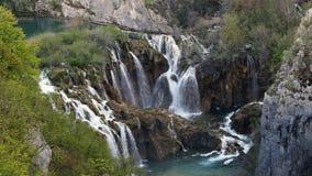 Plitvicemeren (Plitvicka-jezera), Kroatië Stock Fotografie