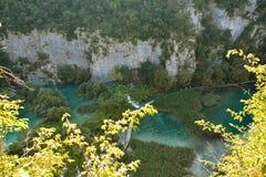 Plitviceweg Royalty-vrije Stock Foto