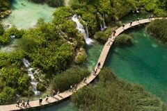 plitvicka λιμνών στοκ φωτογραφία με δικαίωμα ελεύθερης χρήσης