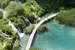 plitvicka πάρκων λιμνών της Κροατία&si Στοκ Φωτογραφίες