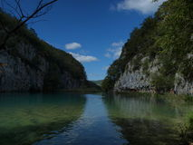 Plitvicka湖 免版税库存图片