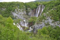 Plitvicka Jezera - λίμνες Plitvickie Στοκ Φωτογραφίες