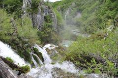 Plitvicka Jezera - λίμνες Plitvickie Στοκ φωτογραφίες με δικαίωμα ελεύθερης χρήσης