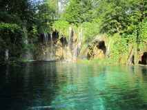 Plitvicka jezera Croatian lake Royalty Free Stock Image