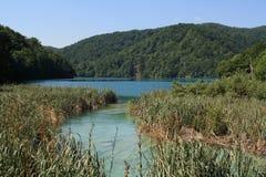 Plitvicka jezera i året 2010 Arkivbild