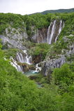 Plitvicka Jezera - lagos Plitvickie Imagenes de archivo