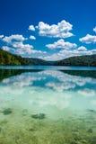 Plitvitski Seen in Kroatien Stockfotos