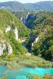 Pliutvice lakes Stock Image